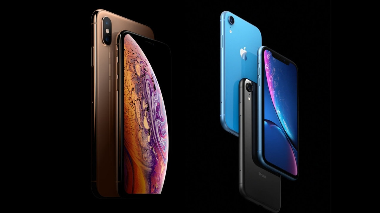 iPhone XS and iPhone XR. Image: Apple