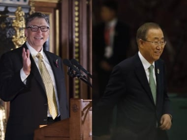 Ban Ki-moon, Bill Gates to head commission on climate change; project to launch in September