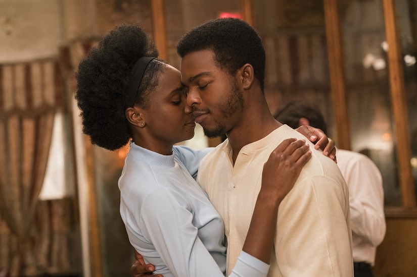 Kiki Layne and Stephan James in If Beale Street Could Talk. Image via Twitter
