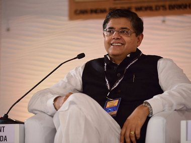 File photo of Bijayant Jay Panda. News18