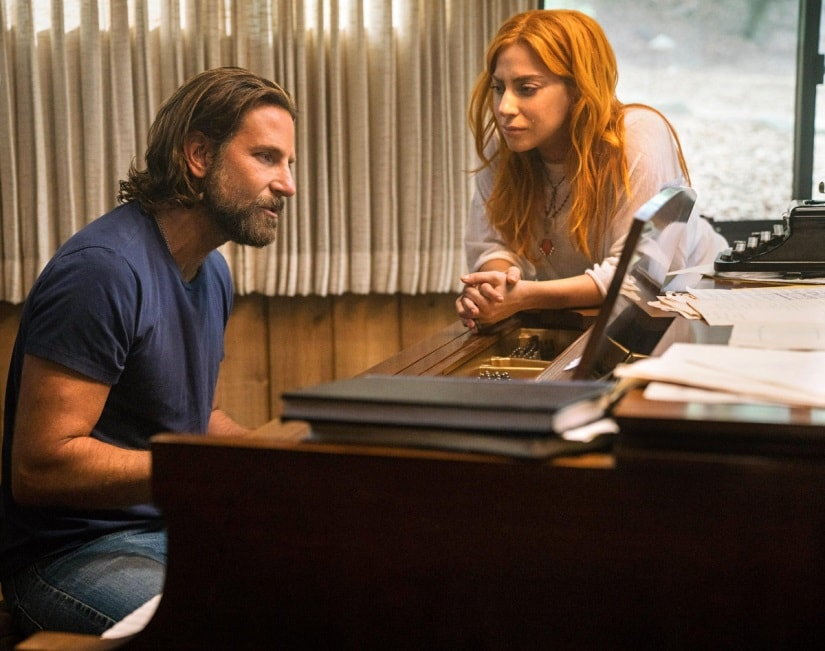 Bradley Cooper and Lady Gaga in A Star is Born. Image via Twitter