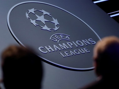 File image of Champions League logo. Reuters