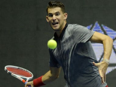 Dominic Thiem defeated Martin Klizan in straight sets on Sunday to win St Petersburg Open. AFP