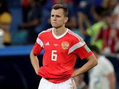 File image of Denis Cheryshev. Reuters