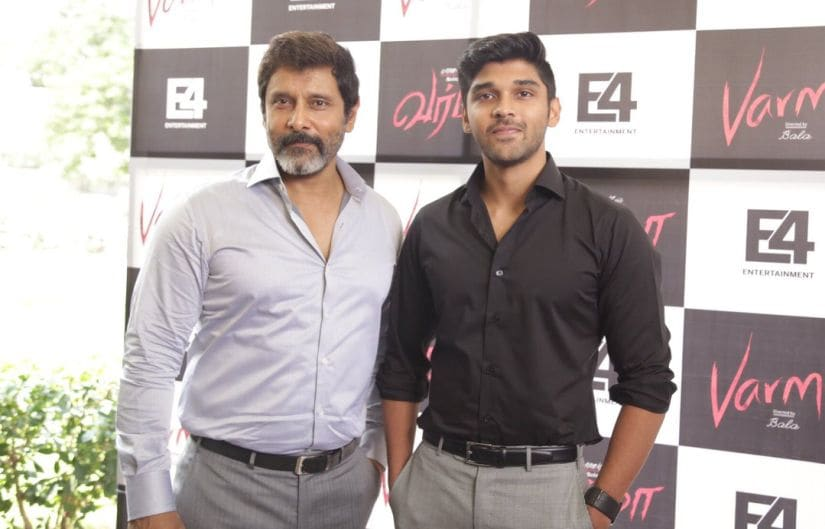 Vikram and his son Dhruv
