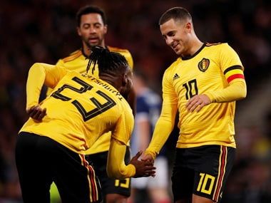 Belgium thrashed Scotland 4-0, before confidently dispatching Iceland 3-0 in the UEGA Nations League. Reuters