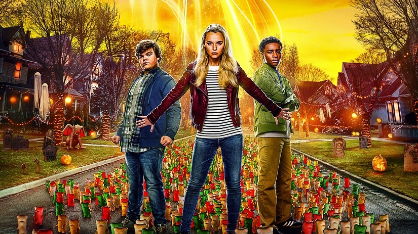 Goosebumps 2: Haunted Halloween promotional banner