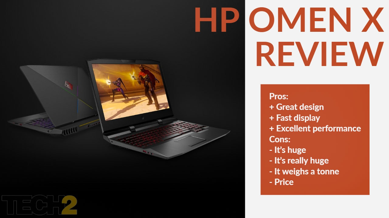 HP Omen X 17 (2018) review: Glorious beast or impractical