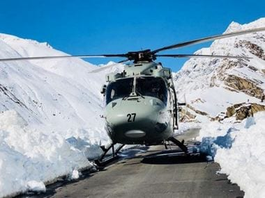 The IAF has deployed 3 helicopters to conduct rescue operations in Himachal Pradesh. Twitter/@IAF_MCC