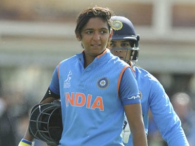 A win against Ireland will all but seal a semis spot for Harmanpreet Kaur's team. AP/File