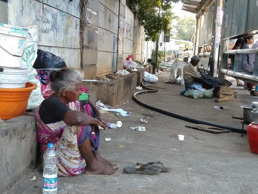 The definition of homeless is different for the central and state governments. The Supreme Court recognizes that people living in the fringes, in tents, in shabby shanties beside railways tracks are all homeless. But Tamil nadu government categorises them as pavement dwellers.