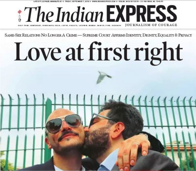 Independence Day II: As SC strikes down Section 377, heres how Indias dailies congratulated LGBT community