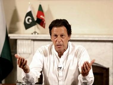 File photo of Pakistan prime minister Imran Khan. AP