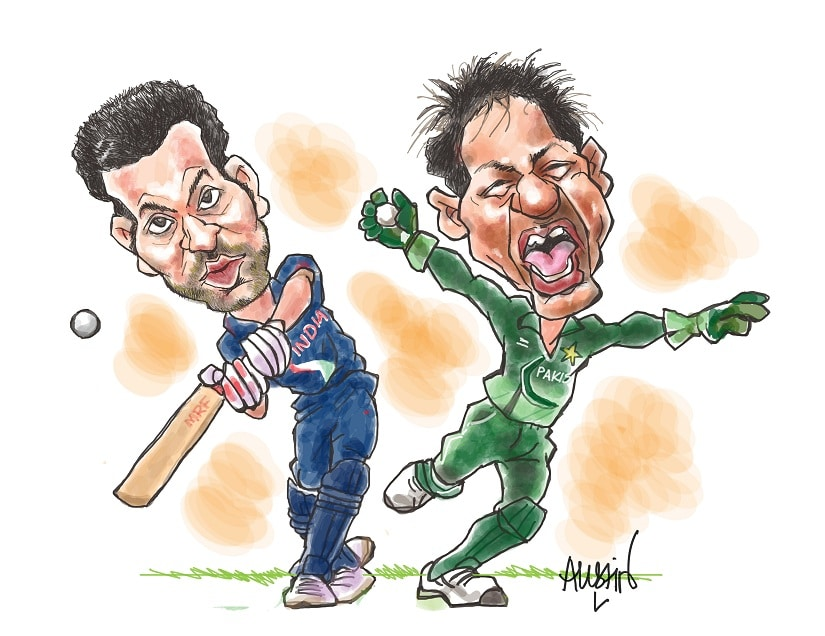 A huge star like Kohli staying away from the Asia Cup is a cause for concern for both broadcasters and organisers. Illustration courtesy Austin Coutinho