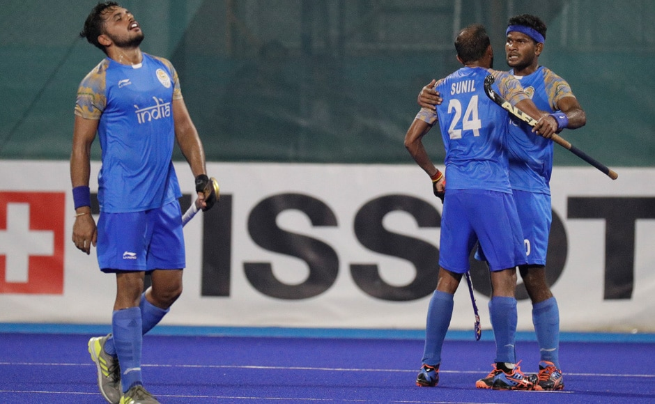The Indian men's hockey team won their bronze medal match against Pakistan by a score of 2-1. AFP