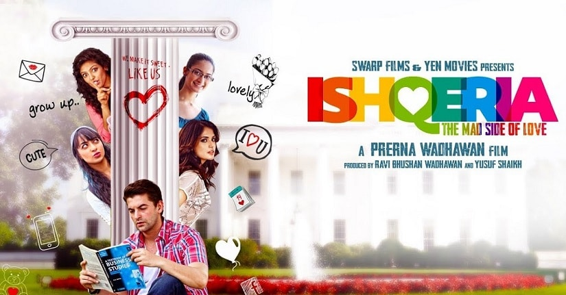 Ishqeria movie promotional banner. Image via Twitter