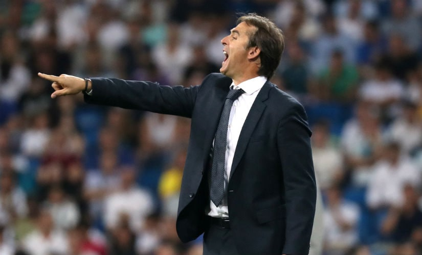 Julen Lopetegui faces the challenge of transforming a champion side into one that fits his style of play. Reuters