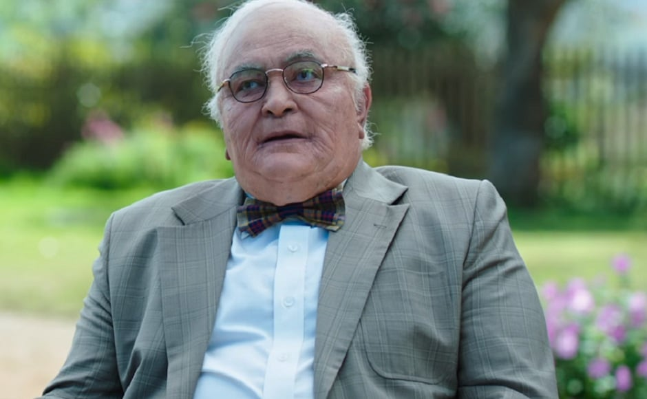 He played a 90-year old in Kapoor & Sons. Screengrab from YouTube