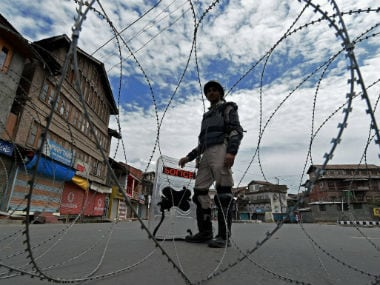 File image of Jammu and Kashmir Police. PTI