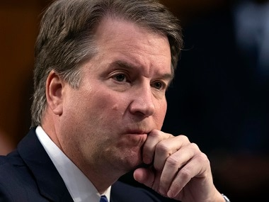 File image of President Donald Trump's Supreme Court nominee Brett Kavanaugh. AP