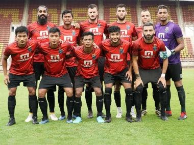 Kerala Blasters team. Image Courtesy: Twitter @KeralaBlasters