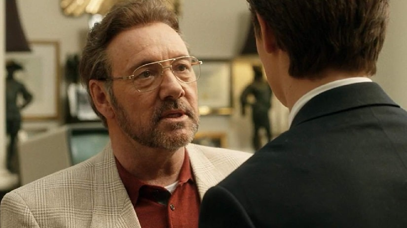 Kevin Spacey in another still from Billionaire Boys Club. Image via Twitter