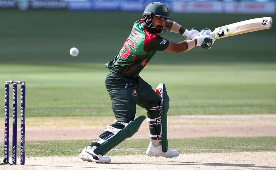 Liton Das scored his maiden century against India, giving Bangladesh a strong start in the match. AP