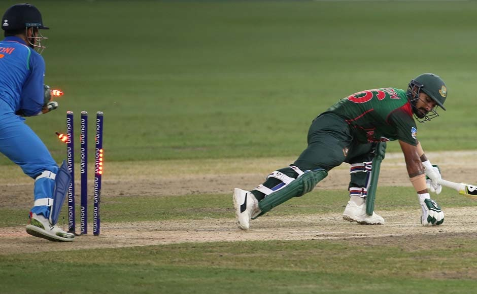 After the fall of his wicket, Bangladesh suffered a collapse in their batting order, with eight players putting in single digit scores. AP