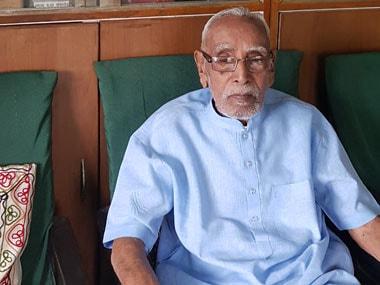 Former RSS spokesperson MG Vaidya. Image courtesy Tufail Ahmad