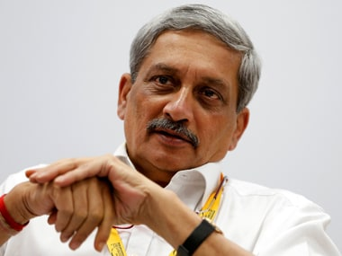 File photo of Goa chief minister Manohar Parrikar. Reuters