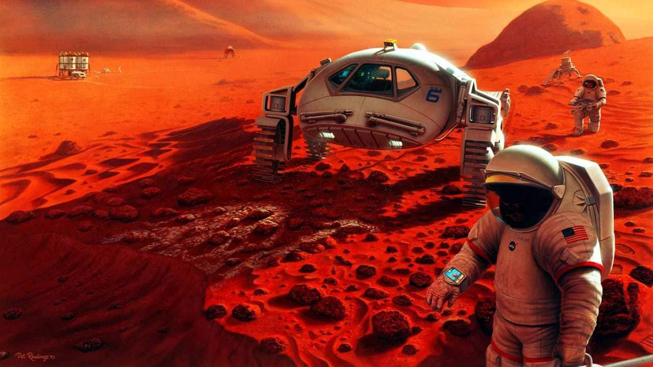 Life on Mars. Image: Wikimedia Commons