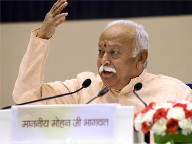 Mohan Bhagwat's lectures in Delhi: 'Prejudice should not drive responses'