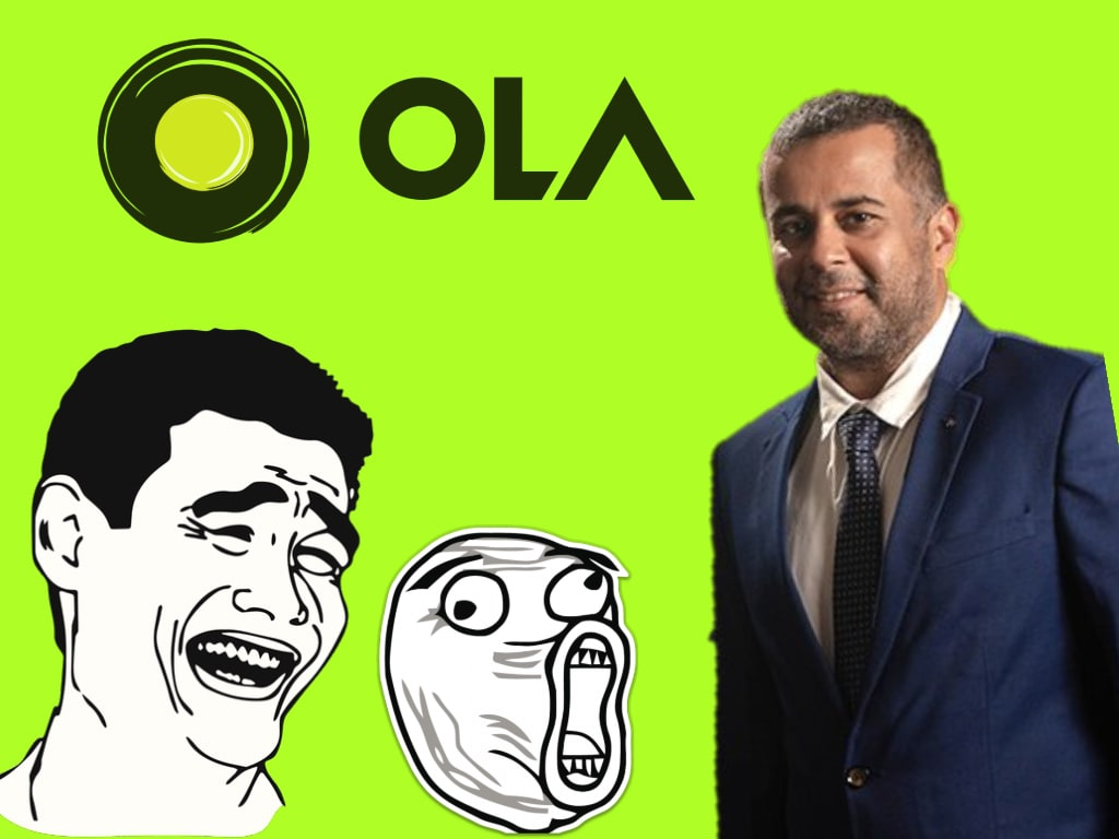 Ola's new ad campaign with Chetan Bhagat has backfired in a hilarious way