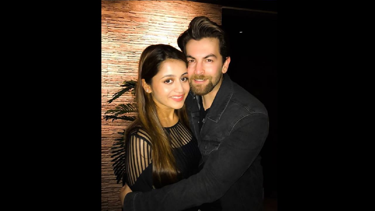 Neil Nitin Mukesh with wife Rukmini. Image via Instagram