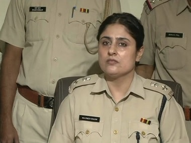 File image of Nazneen Bhasin, the Police Superintendent of Nuh. ANI