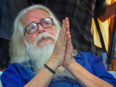 Former ISRO scientist Nambi Narayanan speaks to media, in Thiruvananthapuram, Friday, 14 September, 2018. PTI