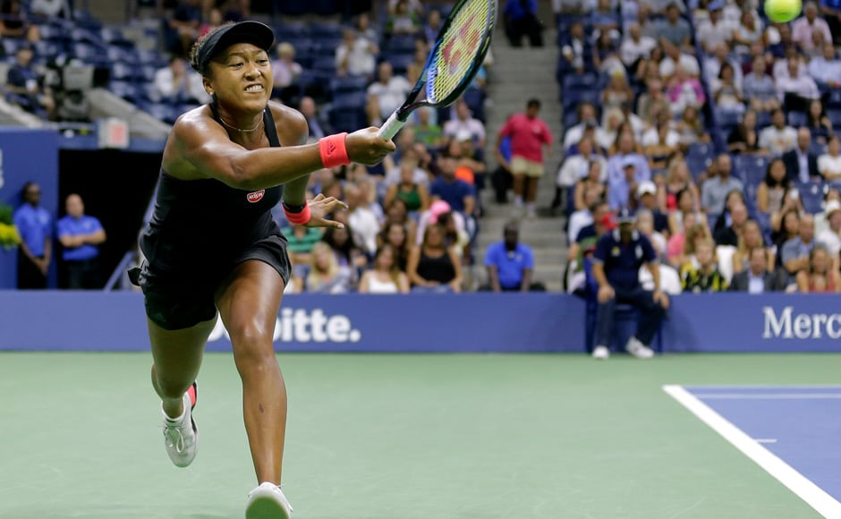 Naomi Osaka made history by becoming the first ever Japanese woman to reach a singles final in a Grand Slam. AP