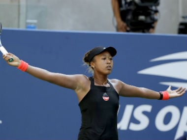 Naomi Osaka became the first Japanese women's player to reach a Grand Slam final. AP