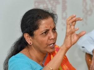 File image of defence minister Nirmala Sitharaman. PTI