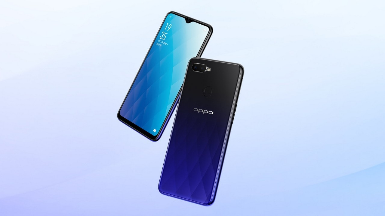 Oppo A7X. Image: Oppo China