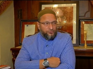 File photo of AIMIM chief Asaduddin Owaisi. ANI