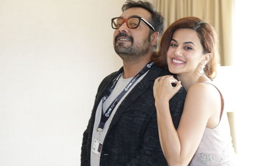 Kashyap and Pannu at TIFF 2018