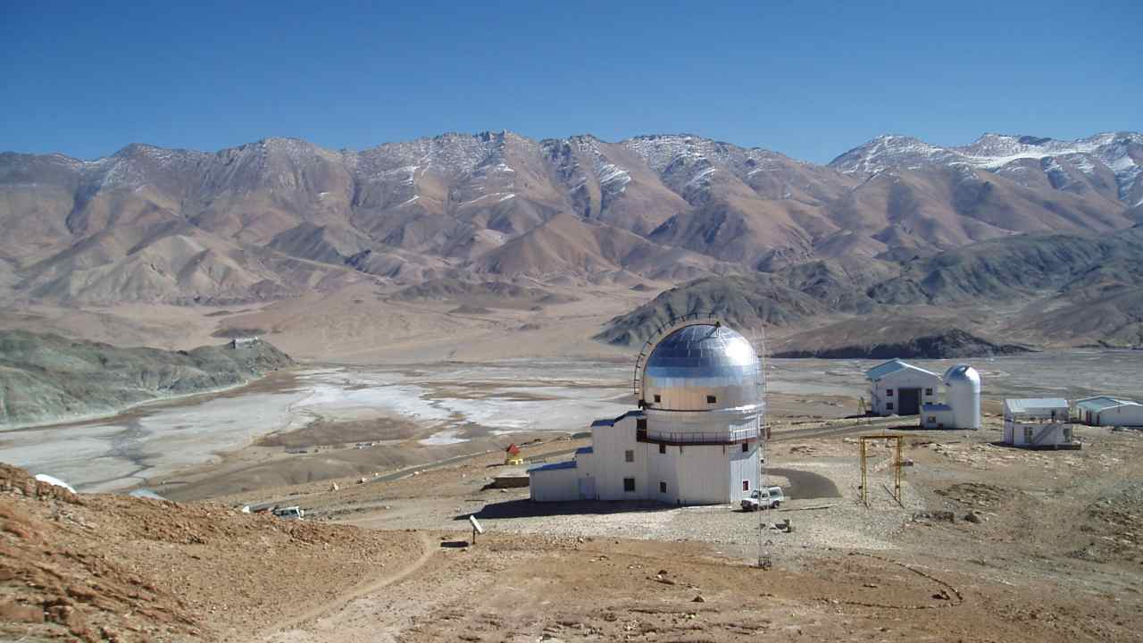 New gamma ray telescope coming up in Ladakh to observe exploding stars, black holes