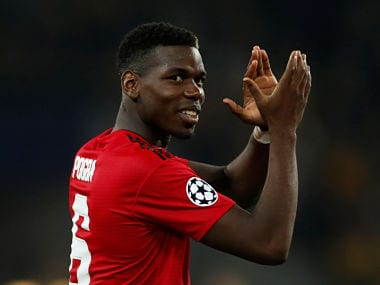 Soccer Football - Champions League - Group Stage - Group H - BSC Young Boys v Manchester United - Stade de Suisse, Bern, Switzerland - September 19, 2018 Manchester United's Paul Pogba applauds their fans after the match Action Images via Reuters/Matthew Childs - RC186FBB7C10