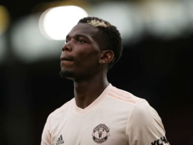 File image of Manchester United's Paul Pogba. Reuters