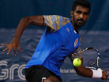 File image of Prajnesh Gunneswaran. Reuters