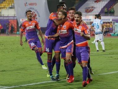 File image of FC Pune City players. ISL/SPORTZPICS