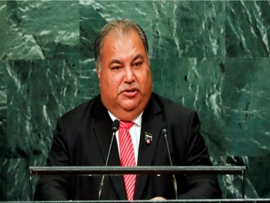 Nauru president calls Chinese envoy insolent for speaking out of turn at Pacific Islands Forum