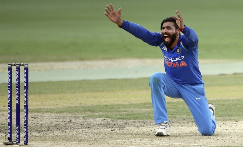 Ravindra Jadeja returned to India's ODI side after a gap of one and half years. AP