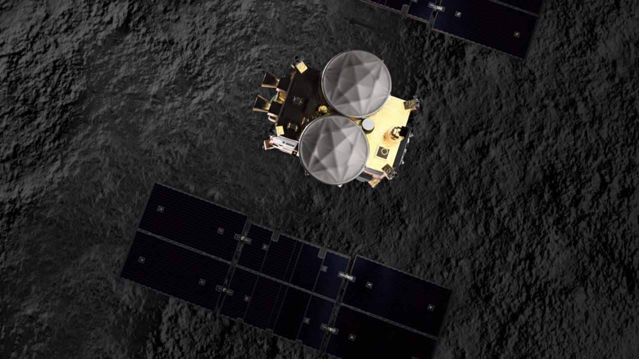 Touchdown! Japans Hayabusa2 spacecraft lands on distant asteroid to grab sample